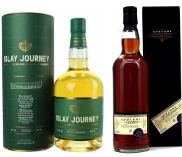 ISLAY JOURNEY & BUNNAHABHAIN 2009 UNPEATED シェリー樽