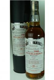 INVERGORDON 25年 シェリー樽 1988-2014 THE SOVERIGN