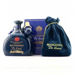 BUCHANAN'S de luxe FINEST BLENDED WHISKY 80年代磁器